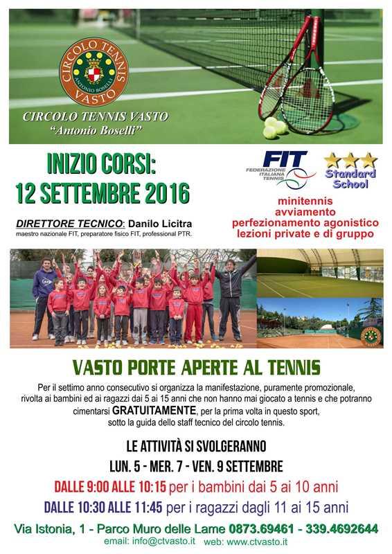 scuola tennis