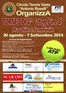 TORNEO di 4° lim.4.3 - 2014